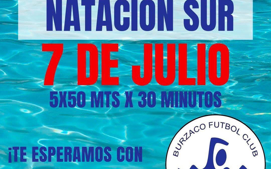 Competencia de natación en Burzaco Fútbol Club 07-07-19