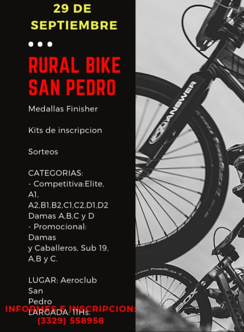 Rural Bike San Pedro 2019